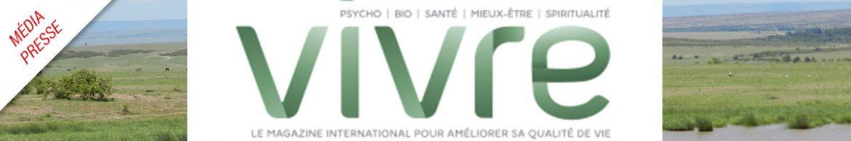 magazine Québéquois VIVRE, Novembre-Décembre 2018